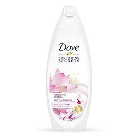 Dove Nourishing Secrets Glowing Ritual Body Wash żel pod prysznic Lotus Flower Extract & Rice Water 500ml