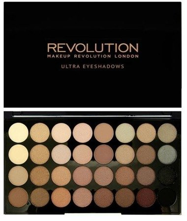 Makeup Revolution Ultra Eyeshadows Beyond Flawless paleta 32 cieni 16g